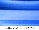 blue venting element close up... | Shutterstock . vector #777223282