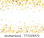 gold sparkling background with... | Shutterstock .eps vector #777235972