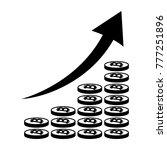 vertical bar graph  diagram... | Shutterstock . vector #777251896