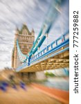 the tower bridge on a beautiful ... | Shutterstock . vector #777259882