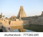 virupaksha temple  located in... | Shutterstock . vector #777281185