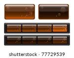Set Of Semitransparent Buttons...