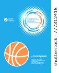 brochure or web banner design... | Shutterstock .eps vector #777312418