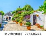 alberobello  italy  june 21 ... | Shutterstock . vector #777336238