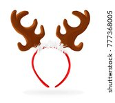 template for a fun photo for... | Shutterstock .eps vector #777368005