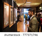 side view of trendy confident... | Shutterstock . vector #777371746