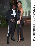 Small photo of LOS ANGELES - DEC 11: Kevin Hart and Eniko Parrish arrives for the 'Jumanji: Welcome To The Jungle' Los Angeles Premiere on December 11, 2017 in Hollywood, CA