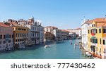 sunny day  venice  italy | Shutterstock . vector #777430462