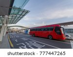 dec 9 2017 bus station at... | Shutterstock . vector #777447265