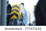 staff on the ferry are...   Shutterstock . vector #777472132