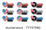 American Flags  Patriotic...
