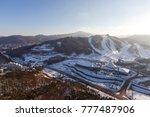 pyeongchang  south korea ...   Shutterstock . vector #777487906