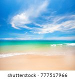 beach and tropical sea | Shutterstock . vector #777517966