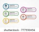 vector illustration. an... | Shutterstock .eps vector #777550456
