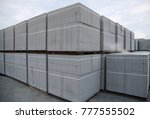 aerated concrete block | Shutterstock . vector #777555502
