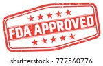 fda approved stamp | Shutterstock .eps vector #777560776