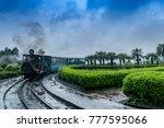 may 01 2017.the darjeeling... | Shutterstock . vector #777595066