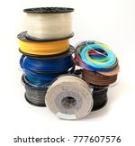filament for 3d printing | Shutterstock . vector #777607576