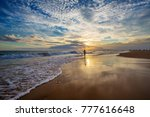 scenic view at the ocean at the ... | Shutterstock . vector #777616648
