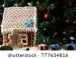 homemade christmas gingerbread... | Shutterstock . vector #777634816