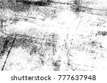 grunge black and white urban... | Shutterstock .eps vector #777637948