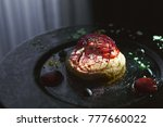 modern restaurant dessert...   Shutterstock . vector #777660022