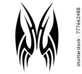 tattoo tribal vector design.... | Shutterstock .eps vector #777662488