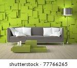 interior design of a modern... | Shutterstock . vector #77766265