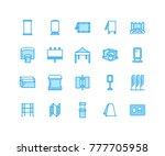 advertising exhibition banner... | Shutterstock .eps vector #777705958