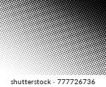 points halftone background.... | Shutterstock .eps vector #777726736