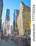 new york city  usa   october 20 ... | Shutterstock . vector #777735226