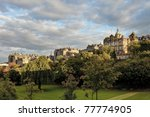edinburg - stock photo