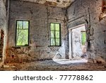 Old Destroyed An Abandoned...