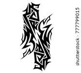 tattoos ideas designs   tribal...   Shutterstock .eps vector #777799015
