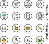 line vector icon set  ...   Shutterstock .eps vector #777807952