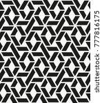 vector seamless pattern. modern ... | Shutterstock .eps vector #777816175