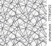 vector seamless pattern from... | Shutterstock .eps vector #777816922