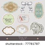 label set design | Shutterstock .eps vector #77781787