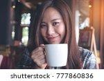 closeup image of a beautiful... | Shutterstock . vector #777860836