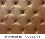 vintage genuine leather of sofa ... | Shutterstock . vector #777882775