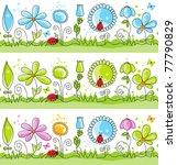 Floral Decorative Lines