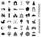 playground icons set. simple... | Shutterstock .eps vector #777908302