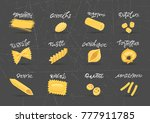 vector collection of various... | Shutterstock .eps vector #777911785