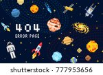 404 error page. not found.... | Shutterstock .eps vector #777953656