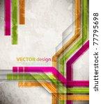 eps10 vector futuristic design | Shutterstock .eps vector #77795698