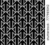 seamless surface pattern design ... | Shutterstock .eps vector #777985042