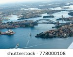 aerial photography of sydney... | Shutterstock . vector #778000108