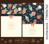 golden collection of christmas...   Shutterstock .eps vector #778006762