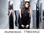 beautiful sexy woman wear... | Shutterstock . vector #778014412