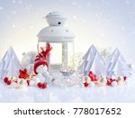 christmas composition with... | Shutterstock . vector #778017652